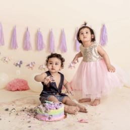 Twin Babies Cake Smash